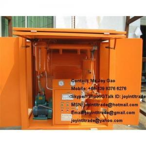 China (joyintltrade@gmail.com) Weather-Proof Vacuum Transformer Oil Purifier Oil Filter (Series ZY) wholesale