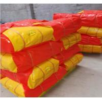 Buy cheap Red/Yellow Recycled HDPE Tarpaulin Sheet For Cover With Any Size As Request from wholesalers