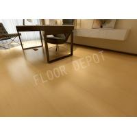 China 8mm Wood Luxury Laminate Flooring E1 Waxed Birch Color Embossed Stable wholesale
