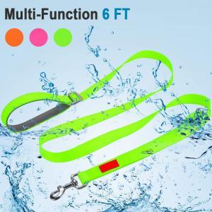 China Soft Handle Waterproof Dog Leash , Nylon Hands Free Dog Leash High Flexibility wholesale