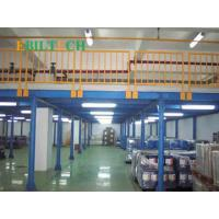 Buy cheap Industrial Fixed Steel Ladder Portable Warehouse Platform Rack Warehouse Storage from wholesalers