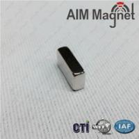 China 10x2.5x2mm block rare earth magnet on sale