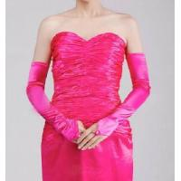 China Pink Bridal Gloves wholesale