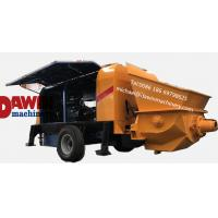 China Powerful 30 m3/hr ~80 m3/hr trailer hydraulic concrete pump with diesel or electric power wholesale