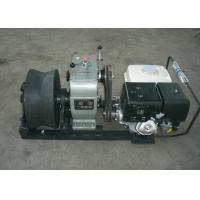 China Cable Winch Puller 5 Ton Gas Engine Powered Winch with Honda GX390 13HP wholesale