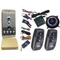 Reatime Online Smartphone Car Alarm System , Cell Phone Remote Start Gps Vehicle Tracking Systems Manufactures