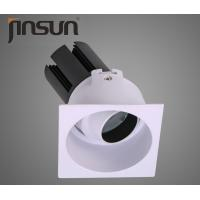 China Square Commercial LED Recessed Downlights For Conference / Meeting Rooms wholesale