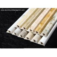 China Cappuccino / Carrara / White Marble Effect Tile Trim With Thermal Transfer Printing wholesale