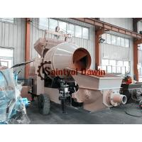 China Lovol 1004 56kw Diesel Engine Concrete Mixing Pump for Concrete Pumping Construction wholesale