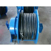 China Grounding Retractable Wire Rope Reel , Commercial Hose Reel Heavy Duty wholesale