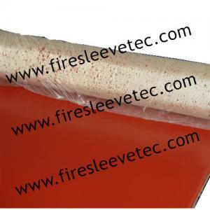 China 96 oz Silicone robber fiberglass heat resistant cloth wholesale
