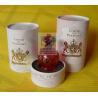 China Waterproof Cylinder Gift Tube Packaging , Cardboard Paper Tubes wholesale