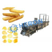 Semi - Automatic Potato Chips Machine , Chip Processing Line High Speed Manufactures