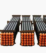 China Black DTH Drill Pipe 6000mm - 89mm Down The Hole Drilling Tools 2 3/8 API Reg wholesale