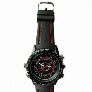 China Waterproof Cheap Camera Watch with 4GB Internal Memory wholesale