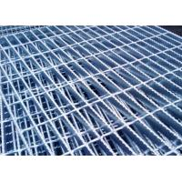 China Hot Dipped Galvanized Serrated Grating Bearing Bar 32 X 5 / 25 X 5mm For Construction wholesale
