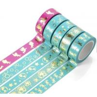 China Washi Paper Scotch Tape Label Car Painting And Decorative Assorted Decorative School wholesale