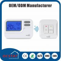 China 7 Days Programmable Underfloor Heating RF Room Thermostat 16A 230V RF wholesale