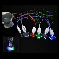 China Colorful Concert LED Voice Controlled Lighting Necklace Logo Customized wholesale
