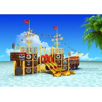 China Spray Park Water Playground Equipment Pirate Ship Indoor Commercial Adult Water Slide wholesale