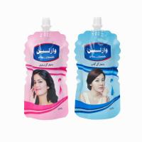 China aluminum foil liquid pouch with spout lotion stand up bags cosmetic bag with spout wholesale