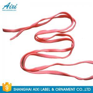 China Fabric Cotton Elastic Binding Tape Knit Polyester Elastic Band Pantone Colors wholesale