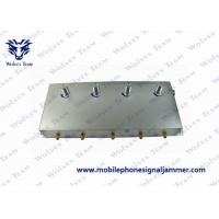 China 5-Band Portable 3G Cell Phone Signal Jammer Black wholesale