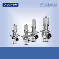China Sanitary pressure safety valve 180 degree temperature , air release valve wholesale