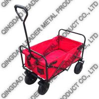 China Folding Collapsible Utility Wagon with 2.50-4 Pneumatic Wheel - TC1011D - P250 on sale