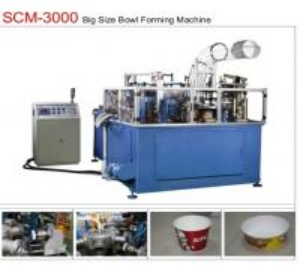 Buy cheap 19KW 80pcs/min Paper Bowl Machine Servo Control Large Dimension Ultrasonic from wholesalers
