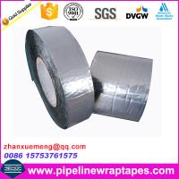 China Aluminium foil tape / self adheisve waterproofing bitumen membrane anticorrosion on sale