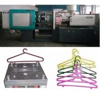 China LCD Control Electric Injection Moulding Machine For Plastic Cloth Hanger / Cloth Peg wholesale