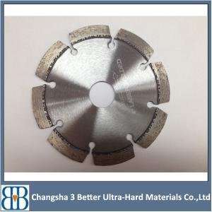 China China factory Key slot / narrow U slot or Wide U slot granite saw blade wholesale