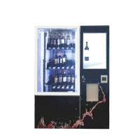 China Wine Beer Cola Bottle Juice Automatic Vending Machine Kiosk With Touch Screen and Refrigerator wholesale
