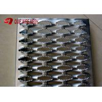 Buy cheap Stainless 2MM Galvanized Steel Grating 240 * 4020MM / Anti Slip Tread Plates from wholesalers