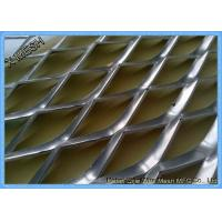 China Galvanized Architectural Metal Mesh , Expanded Mesh Screen SGS Certification wholesale