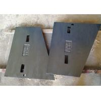 China Manganese Steel Liner Plate Metal Casting Parts Sand Casting Process For Crushers wholesale
