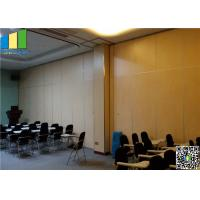Top Hung System Aluminum Office Wall Partitions Manufactures