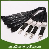 China New customized bottle opener lanyard with subliatiom printing wholesale