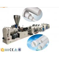 China Drainage And Electric Conduit PVC Plastic Pipe Extrusion Machine , PVC Pipe Production Line wholesale