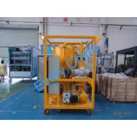 Quality Dewater and Degas Transformer Oil Filtration Machine, Transformer Oil Purifier for sale