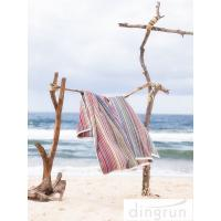 China Premium Cotton 320gsm lightweight beach towels Quick Dry Easy Wash AZO Free wholesale