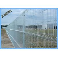 China Galvanized Wire Mesh 3D Security Curved Metal Fence Flexible And Durable PVC Coated wholesale