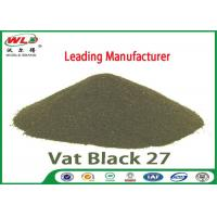 China C I Vat Black 27 Olive R Black Cotton Dye Textile Dyeing Chemicals wholesale