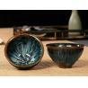 China Multi Color Glaze Ceramic Tea Cups / Top 9cm Elegant Ceramic Japanese Ceramic Tea Mugs wholesale