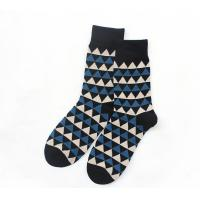 China Winter Thick Knitting Mens Crew Socks , Cotton Socks For Men Sweat Absorbent wholesale