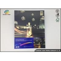 China Customized Eco - Friendly Inline Cold Foil Stamping Greeting Card For Holiday Or Birthday Present on sale