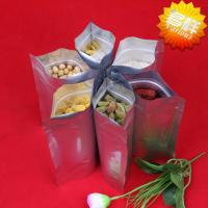 China Aluminum foil bag / Aluminum foil zip lock bag / Pouch / Aluminum foil vacuum packing bags / Bag with window wholesale