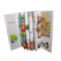 China Pamphlet Brochure Booklet Printing Menu Advertising Informative Delicate wholesale