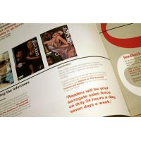 China magazine brochure printing wholesale